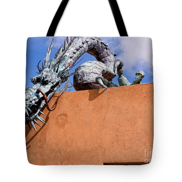 Santa Fe Guardian Dragon Tote Bag