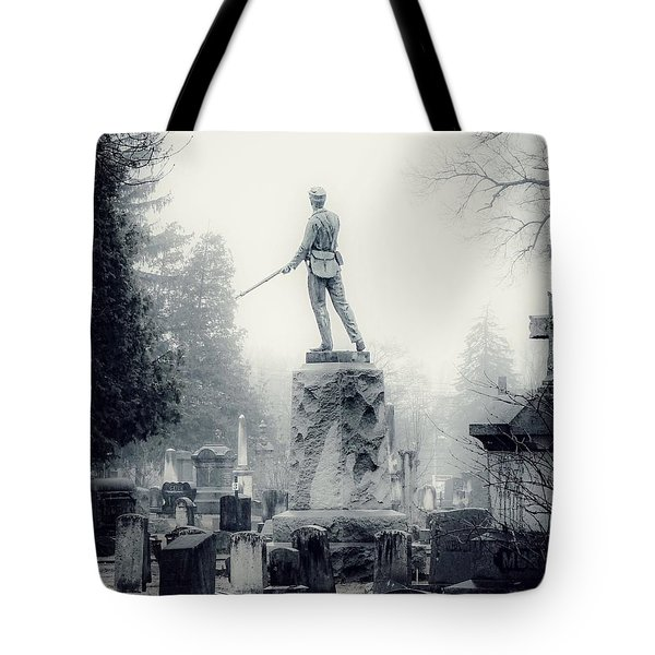 Tote Bag featuring the photograph Guardian by Kendall McKernon