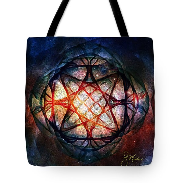 Guardian Of Light Tote Bag