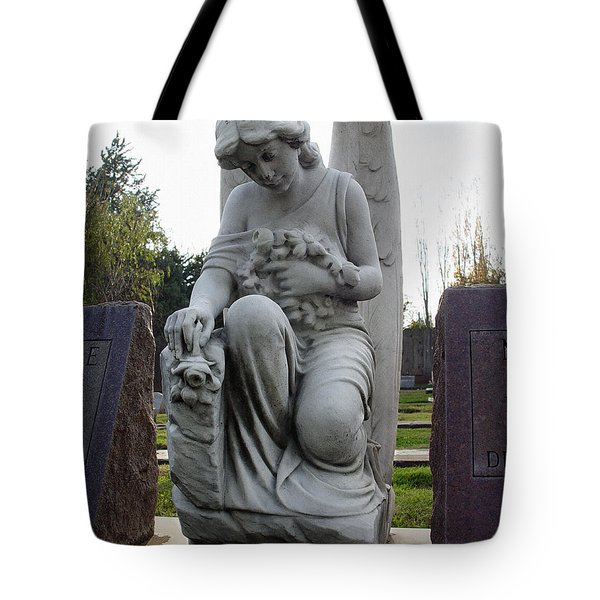 Guardian Of Souls Tote Bag by Peter Piatt