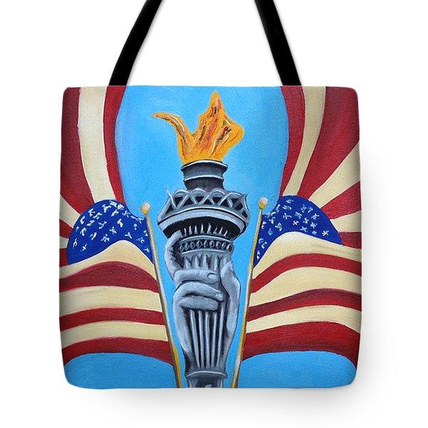Guardian's Of Liberty Tote Bag