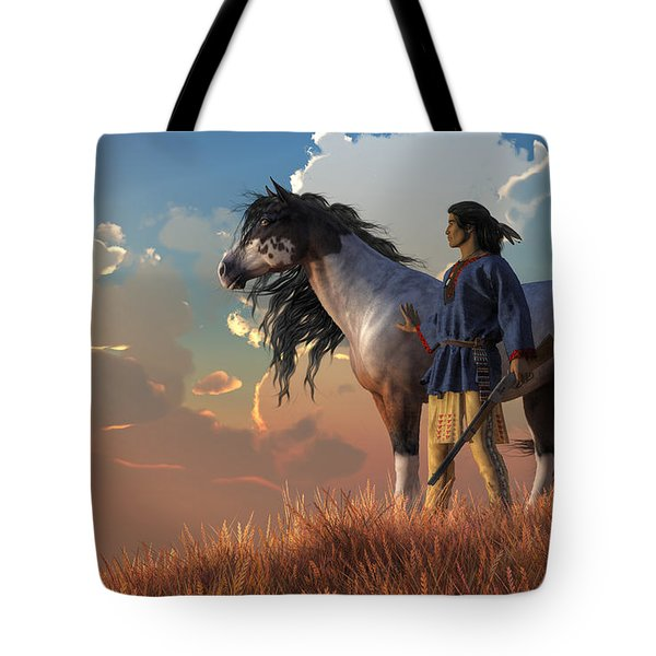 Guardians Of The Plains Tote Bag