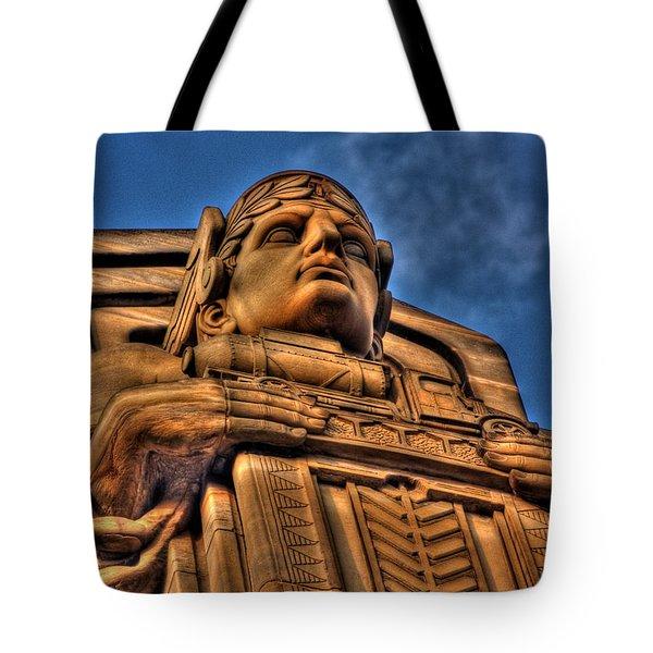 Guardians Of Transportation Tote Bag