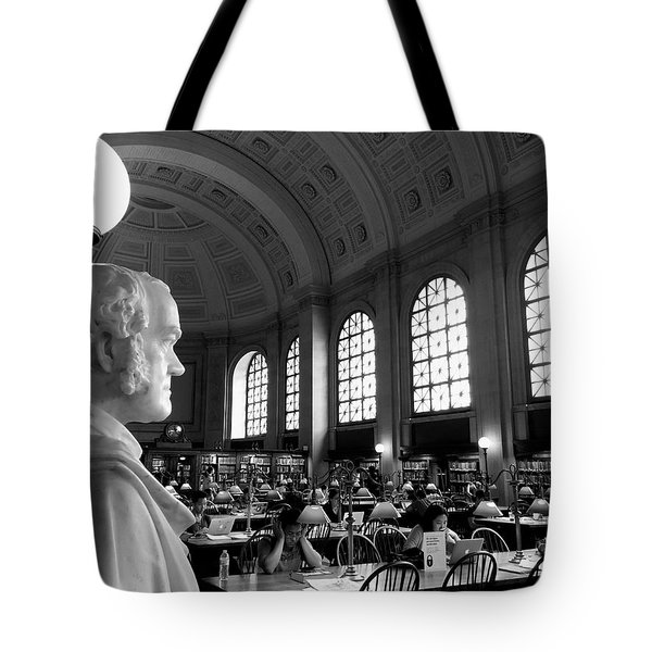 Guarding The Knowledge Tote Bag