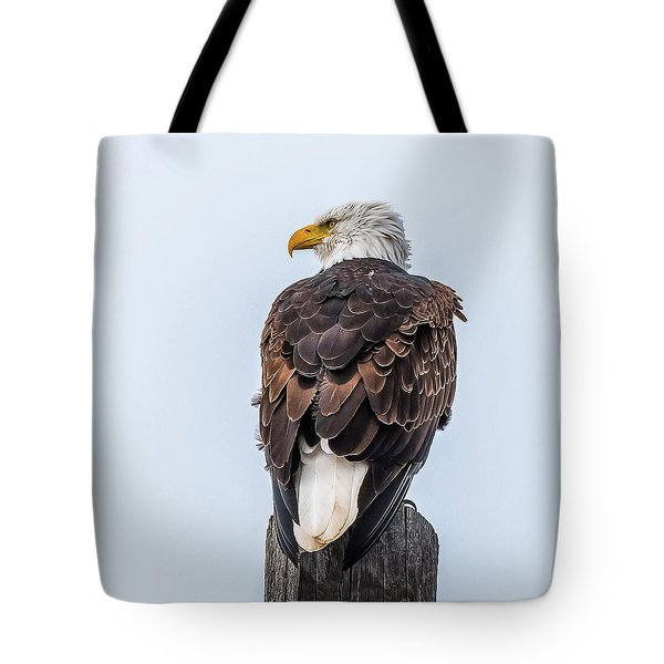 Guarding The Nest Tote Bag