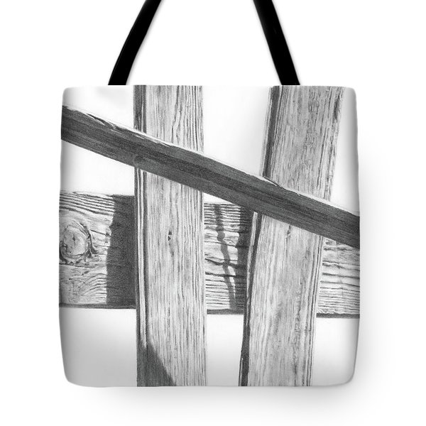 Guarding Time Tote Bag