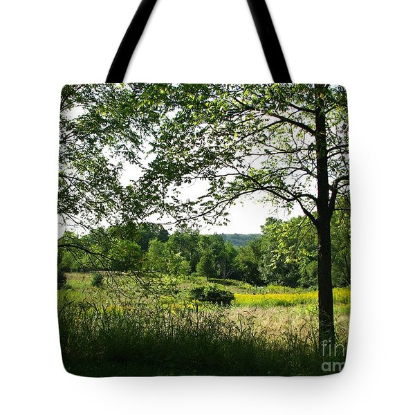 Beyound The Trees Tote Bag