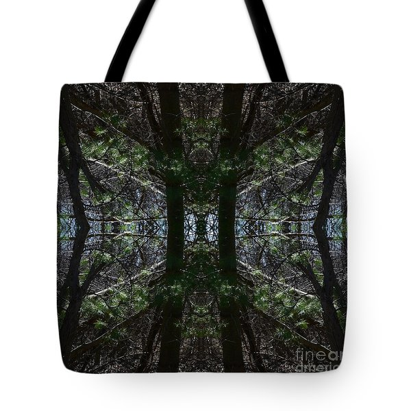 Guards Of The Forest Tote Bag