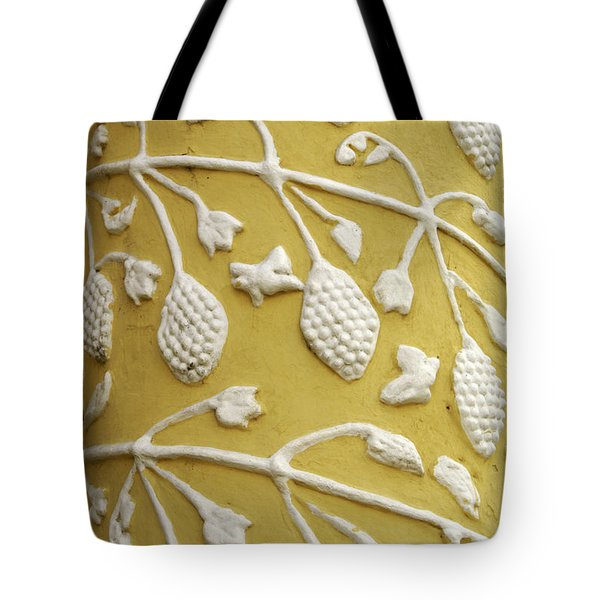 Tote Bag featuring the photograph Guatemala Floral Detail by John  Mitchell