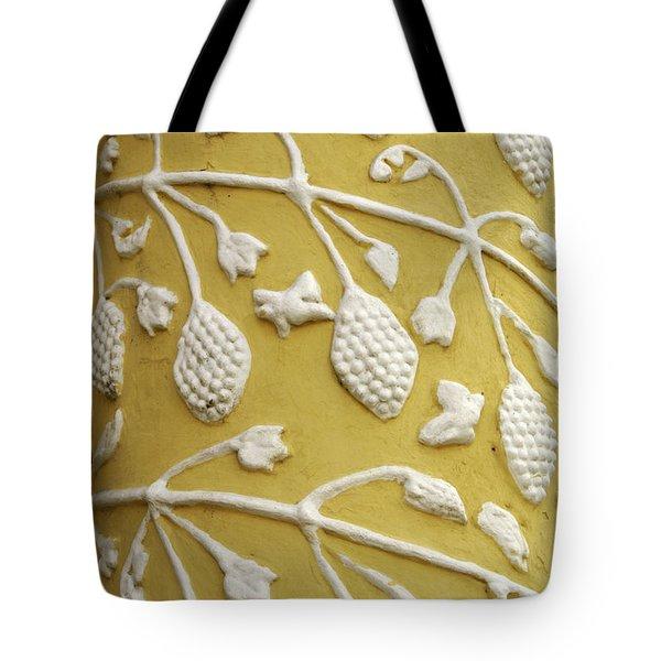 Guatemala Floral Detail Tote Bag