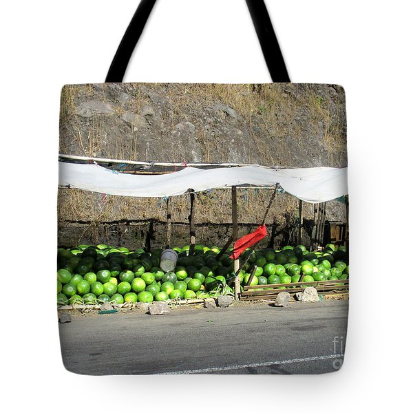 Guatemala Stand 2 Tote Bag by Randall Weidner