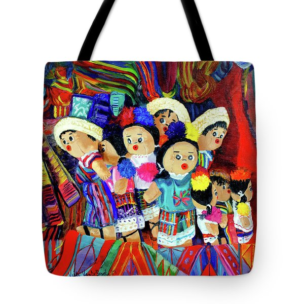 Guatemalan Dolls Tote Bag