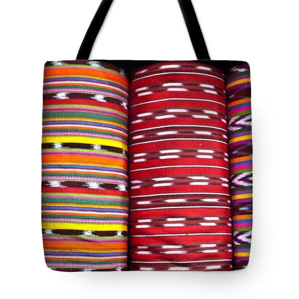 Guatemalan Textiles 2 Tote Bag