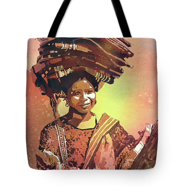 Guatemalan Woman Tote Bag