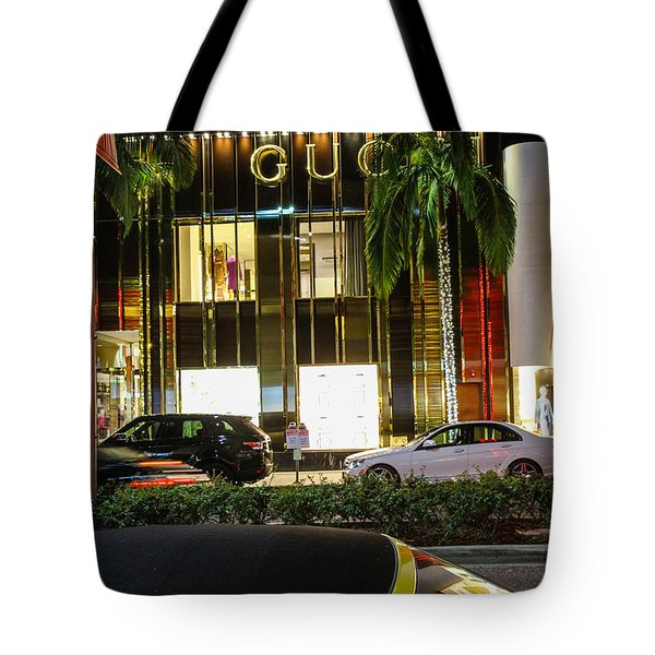 Tote Bag featuring the photograph Gucci by Robert Hebert