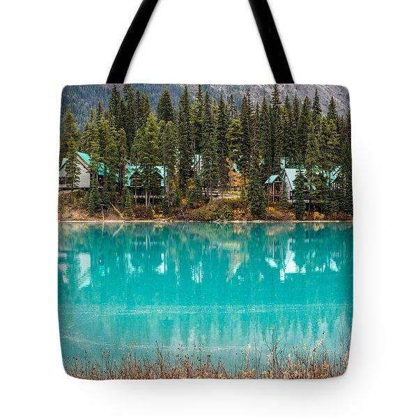 Emerald Lake Tote Bag