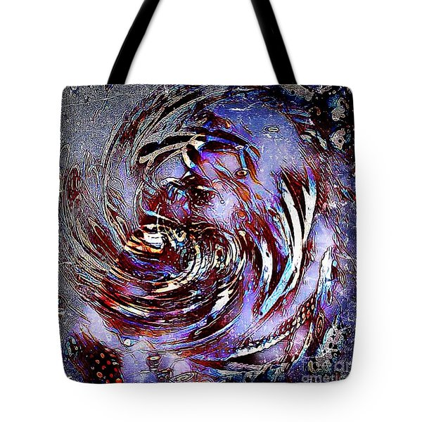 Guess Who Abstract Tote Bag