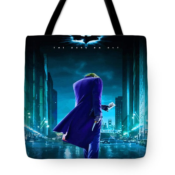 Guess Who Is Coming To Town Tote Bag