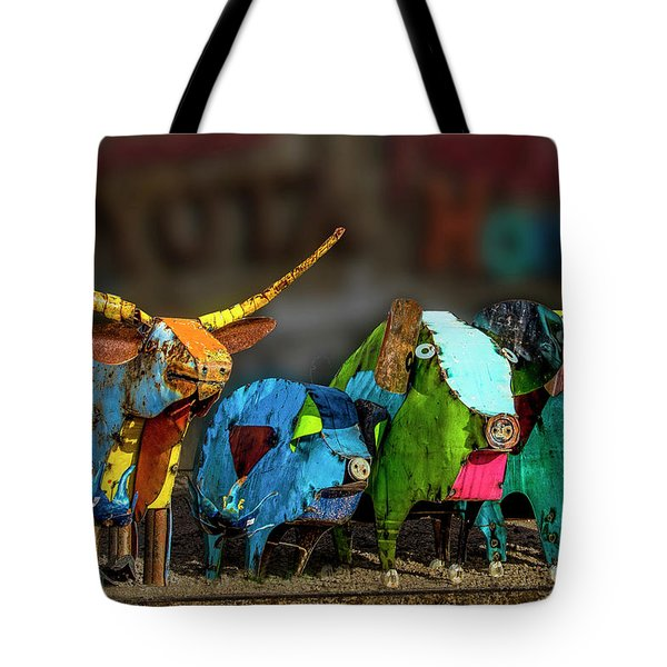Tote Bag featuring the photograph Guess Who's Coming To Dinner by Paul Wear