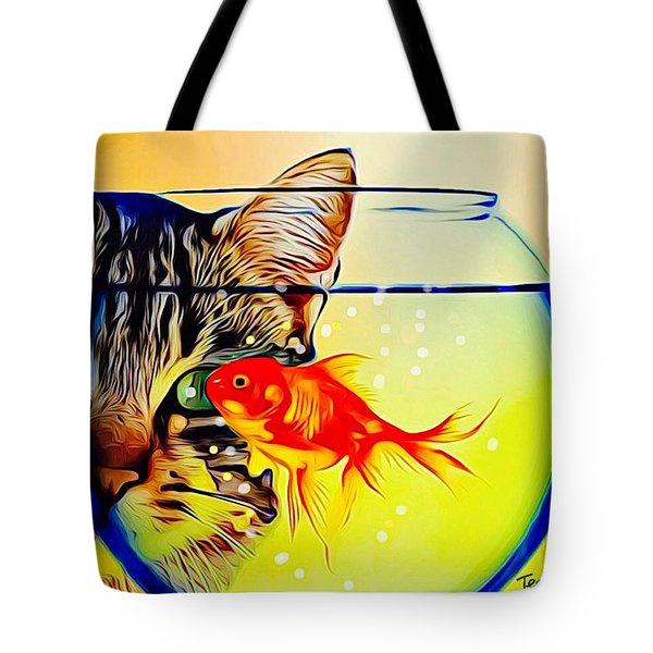 Guess Who's Coming To Dinner? Tote Bag