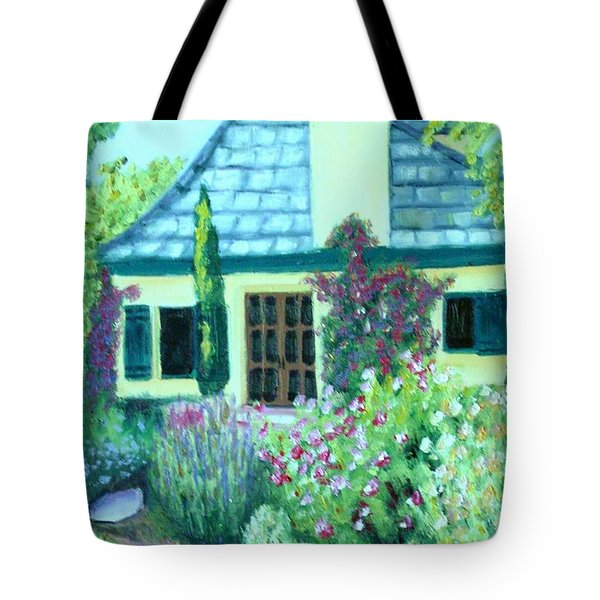 Guest Cottage Tote Bag