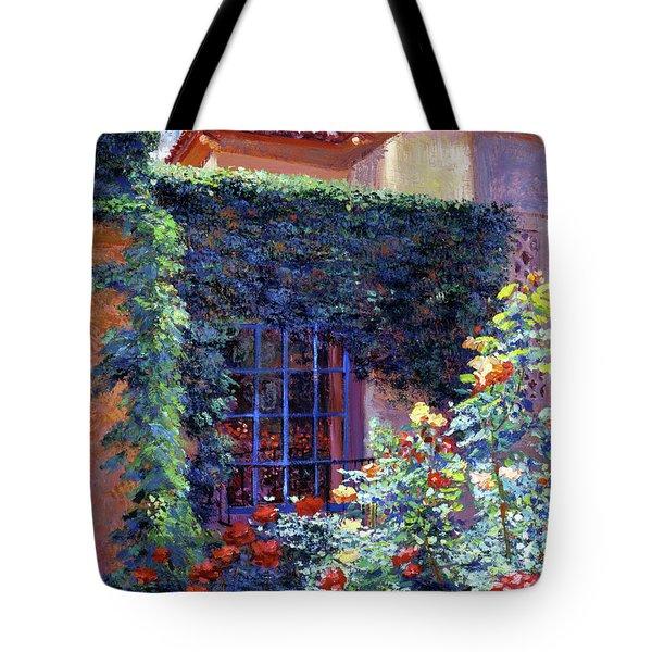 Guesthouse Rose Garden Tote Bag