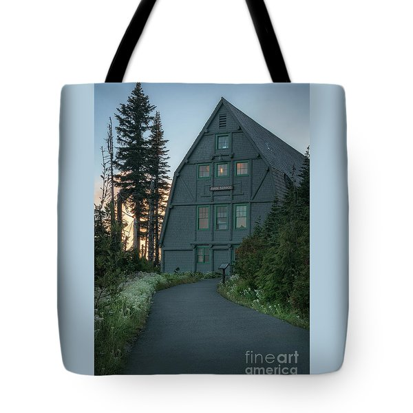 Tote Bag featuring the photograph Guide House by Sharon Seaward