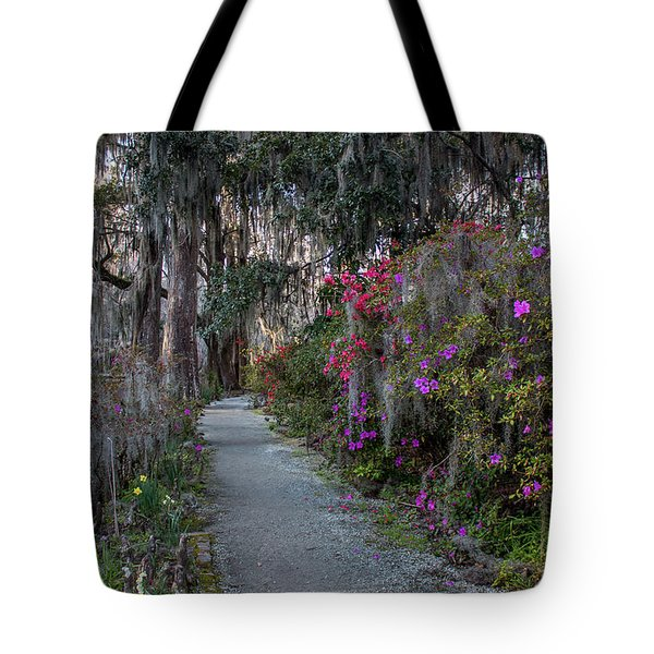 Guide Our Feet Into The Path Of Peace. Luke 1.79  Tote Bag