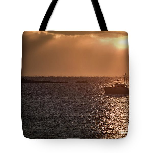 Guided By The Light Tote Bag