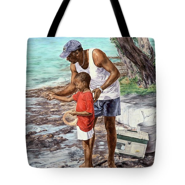 Guiding Hands Tote Bag