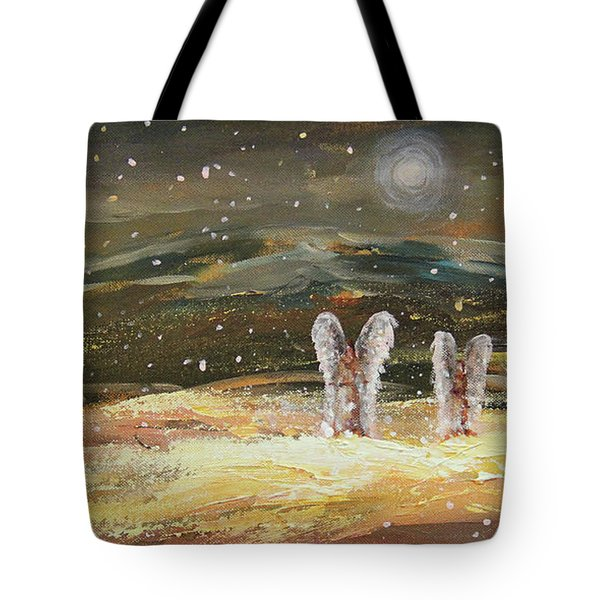 Guiding Light Tote Bag