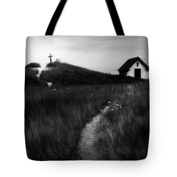 Tote Bag featuring the photograph Guiding Light Square by Bill Wakeley