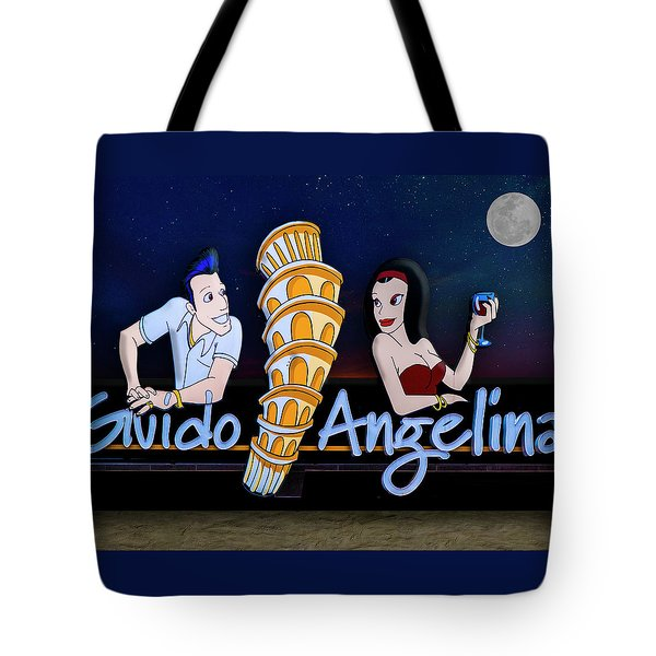 Tote Bag featuring the photograph Guido And Angelina by Paul Wear