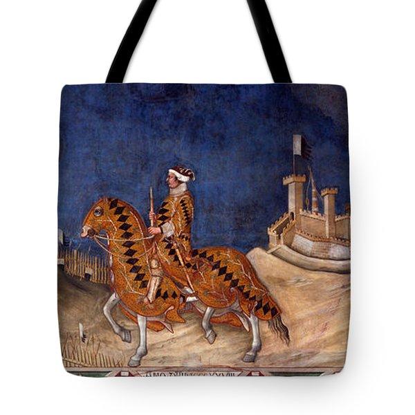 Guidoriccio Da Fogliano Tote Bag