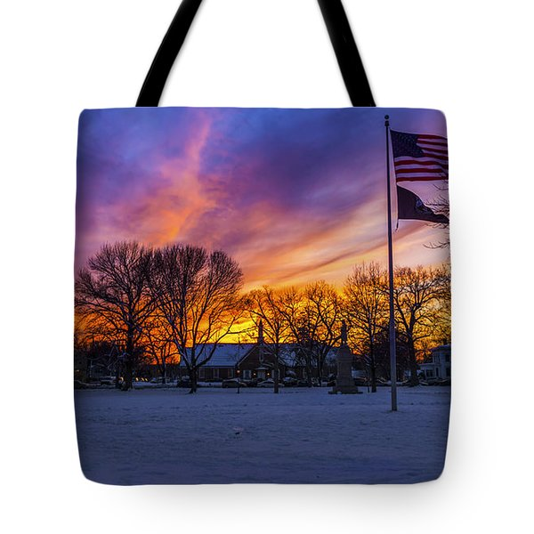 Guilford, Connecticut. Tote Bag