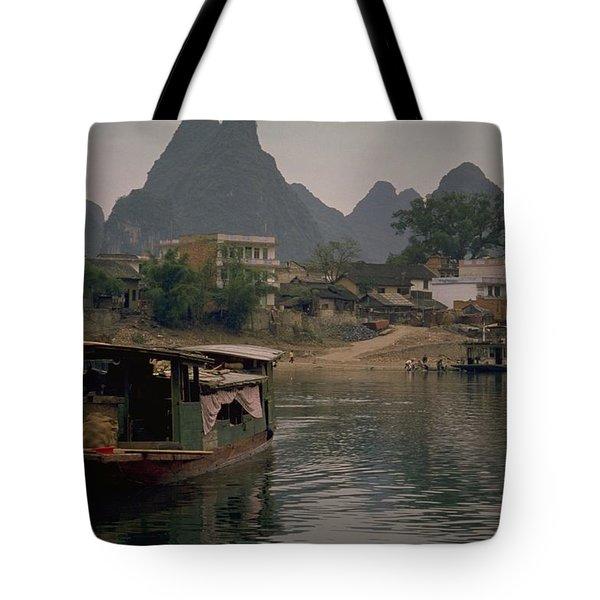 Guilin Limestone Peaks Tote Bag