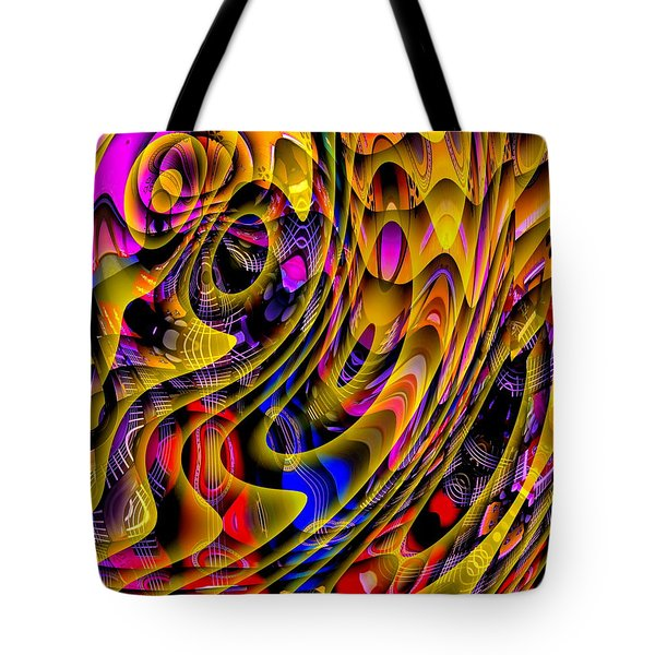 Guitar Abstract Tote Bag