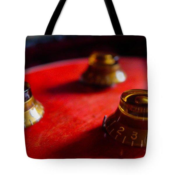Guitar Controls Series Tote Bag