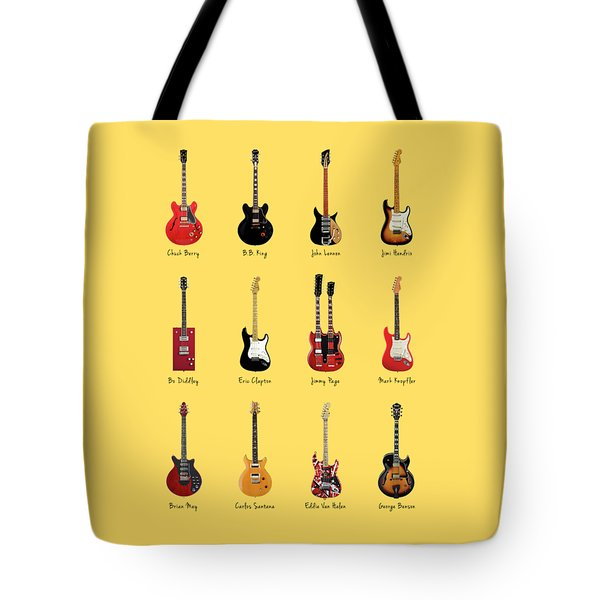 Guitar Icons No1 Tote Bag