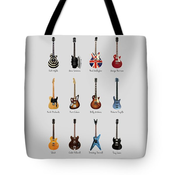 Guitar Icons No2 Tote Bag