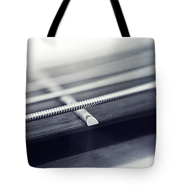 guitar IV Tote Bag by Priska Wettstein