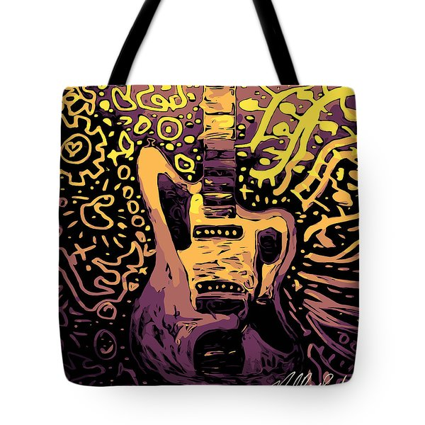 Guitar Slinger Tote Bag