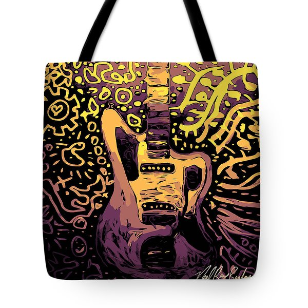 Guitar Slinger Tote Bag