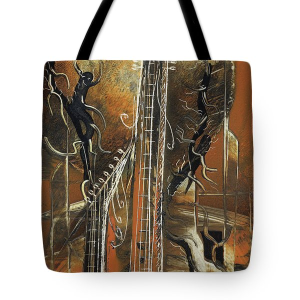 Guitar World Tote Bag