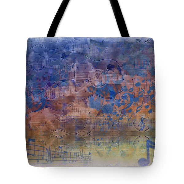 Guitargasm Tote Bag by Bill Cannon