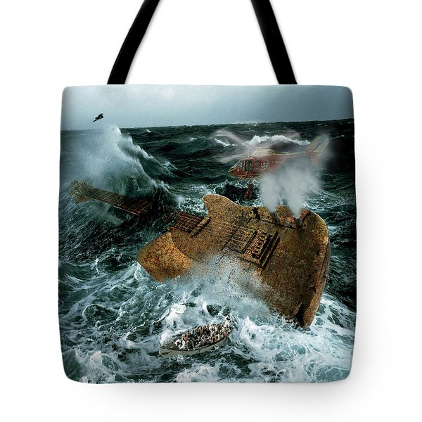 Guitarwreck Tote Bag