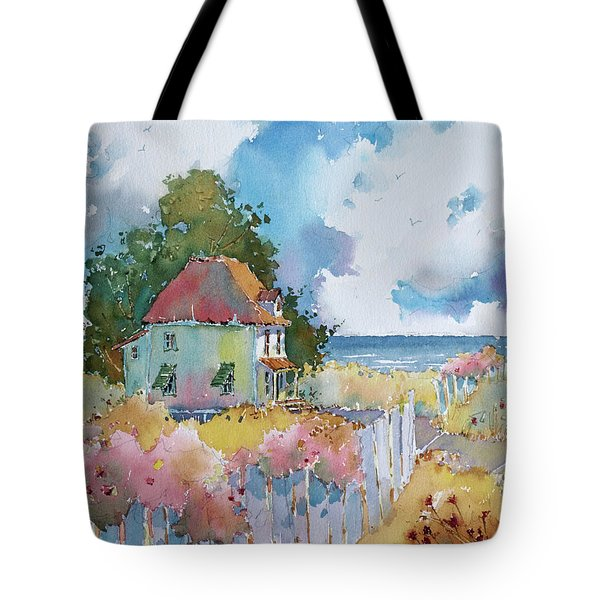 Gulf Coast Cottage Tote Bag