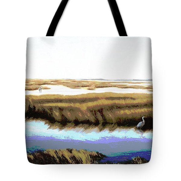 Gulf Coast Florida Marshes I Tote Bag