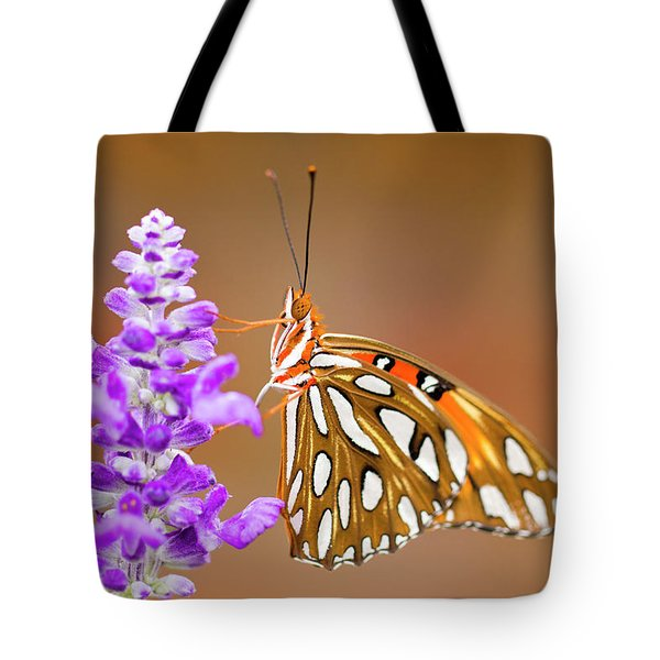 Gulf Fritillary Tote Bag