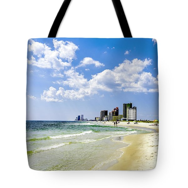 Gulf Shores Al Beach Seascape 1746a Tote Bag